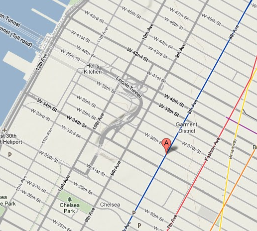 map of new location